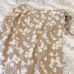 Liz Claiborne Skirts - Liz Claiborne Wrap Around Long Skirt